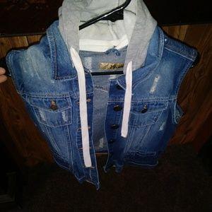 Jackets & Blazers - Jean Jacket Vest